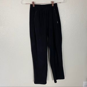 Patagonia Small Fleece Lined Sweat Pants Black